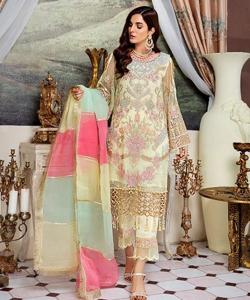 Shenyl Embroidered Chiffon Collection – S 06 Best Sellers Restocked Party & Festive Collection