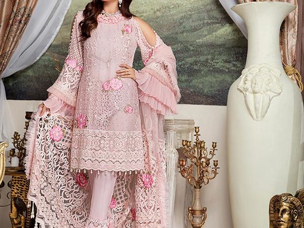 Shenyl Embroidered Chiffon Collection – S 02 – RESTOCKED