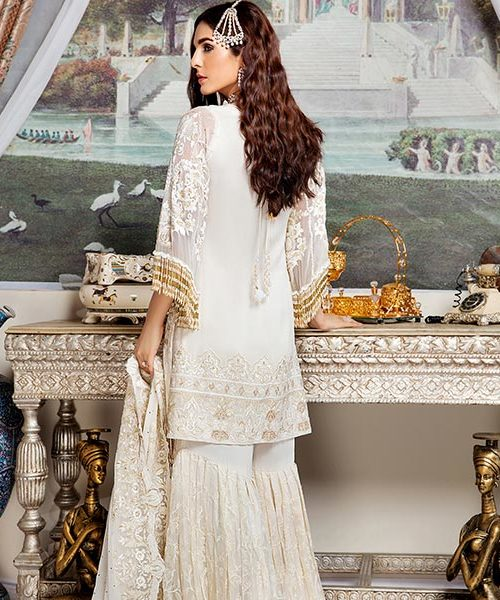 Shenyl Embroidered Chiffon Collection – S 04 – RESTOCKED Best Sellers Restocked Party & Festive Collection