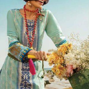 Khaadi Spring Feel Free Lawn 2020 – I20105A