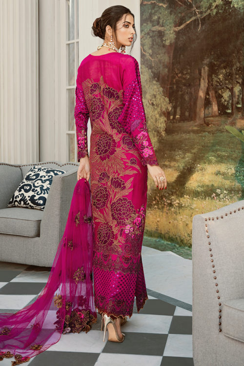 Rouche Luxe Chiffon –  WILD ROSE – RESTOCKED Best Sellers Restocked Party & Festive Collection