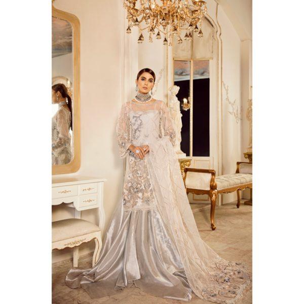 Damask X Rouche Designer Salwar Kameez D No 01