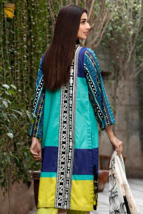 Yellow Series Vol 2 by Charizma Embroidered Lawn Y-07A Best Sellers Restocked Yellow Series Vol 2 by Charizma Embroidered