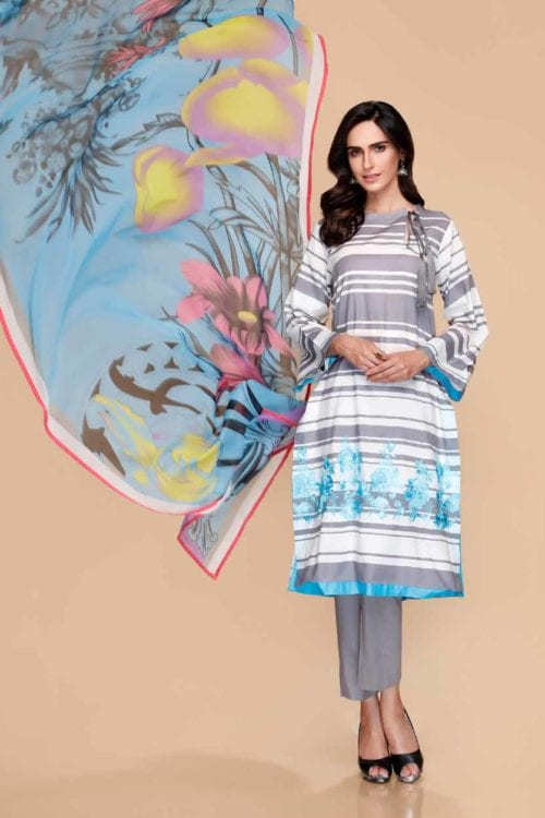 Yellow Series Vol 2 by Charizma Embroidered Lawn Y-06B Best Sellers Restocked Yellow Series Vol 2 by Charizma Embroidered