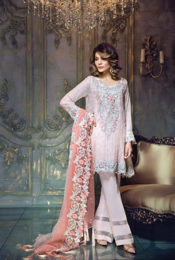 Aayra Festive Chiffon Collection by Marwat Textiles – DN02 - Sold out