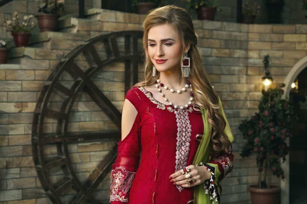 Zara Hayaat Luxury 2020  – SCARLET SS'20-03