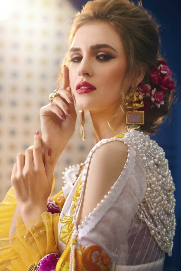 Zara Hayaat Luxury Lawn – HAZEL SS-06 - Recently Restocked