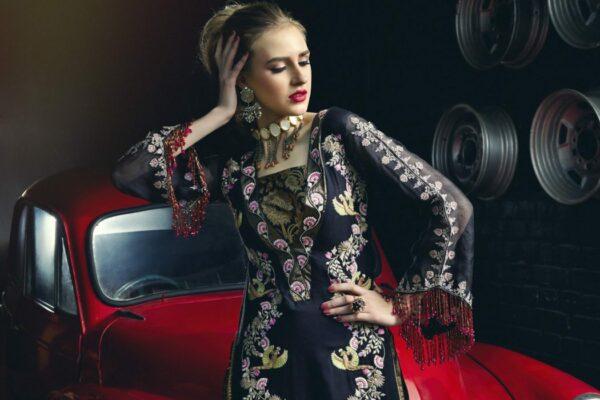 Zara Hayaat Luxury Lawn  – STARLESS SS-04 - Recently Restocked