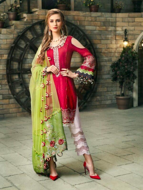 Zara Hayaat Luxury 2020  – SCARLET SS'20-03 Zara Hayaat Luxury 2020 - Original Party & Festive Collection