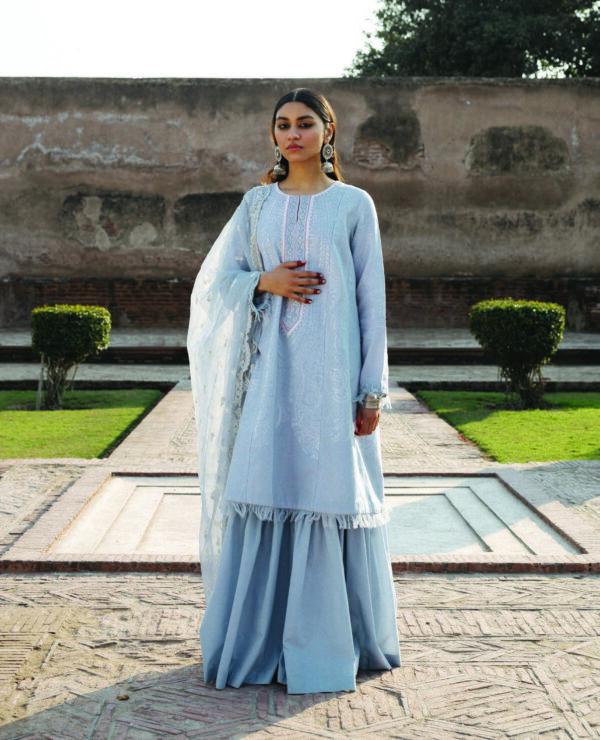 Zara Shahjahan Lawn 2020 Mumtaz A - Sold out