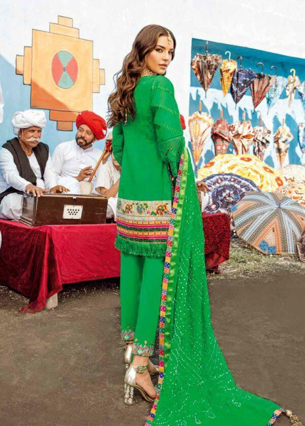 Alzohaib Bandhni Jaipuri Collection – Design 04