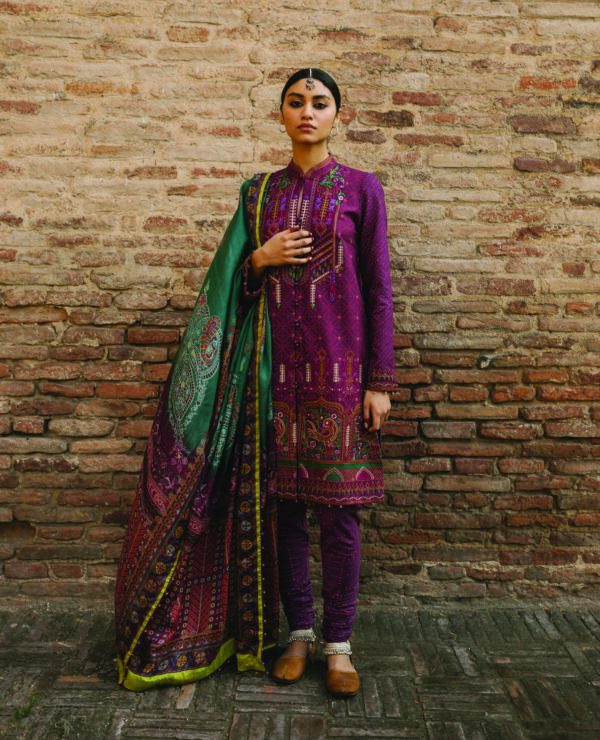 Zara Shahjahan Lawn 2020 Gulbadan A Ready to Ship