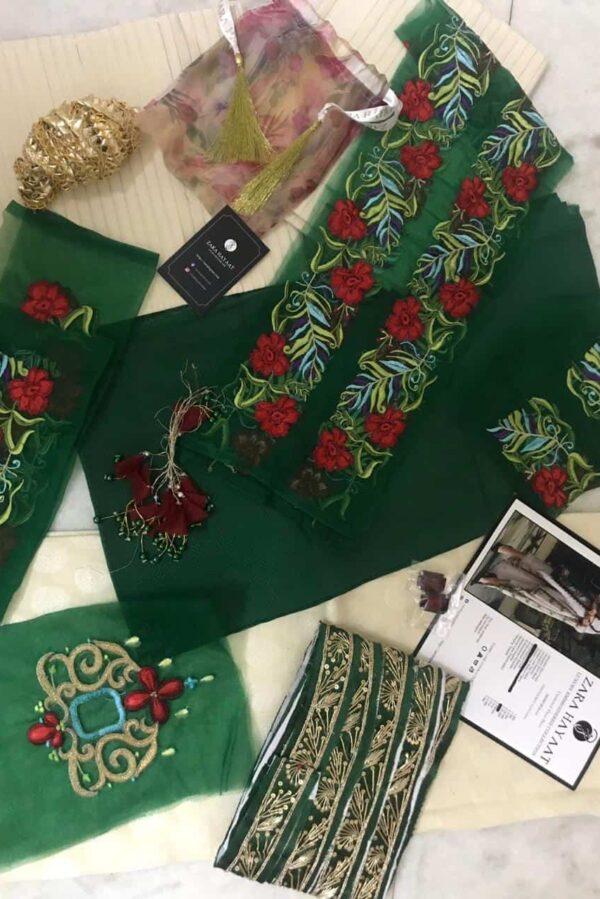 Zara Hayaat Luxury Lawn – MOSS SS'20-05