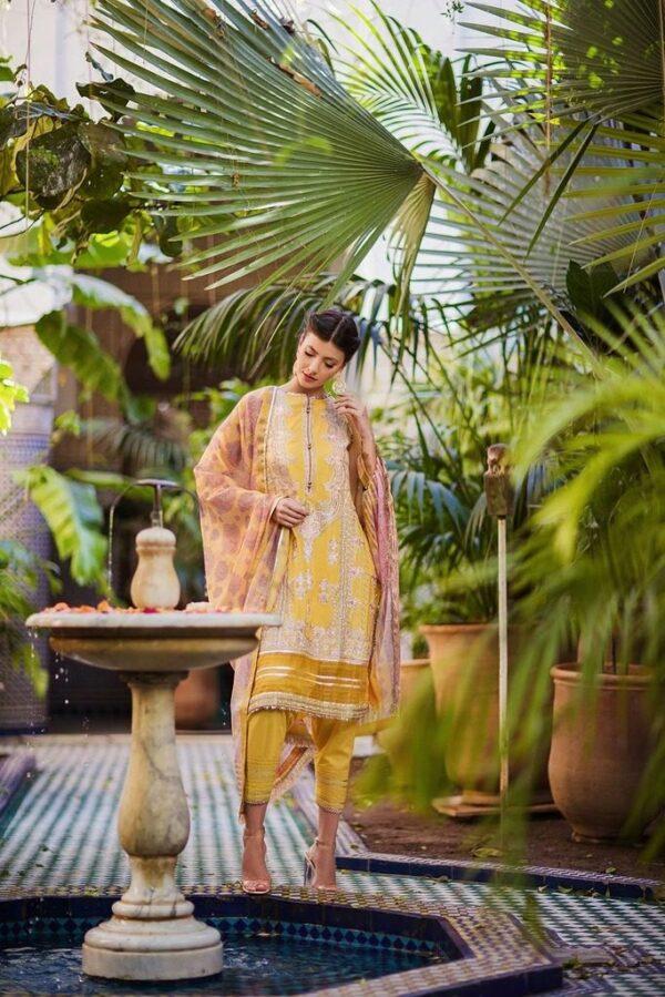 Sobia Nazir Luxury Lawn 2020 –  2A