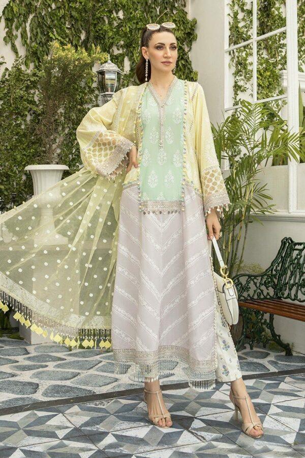 MARIAB Lawn Eid 2020 – Design 05