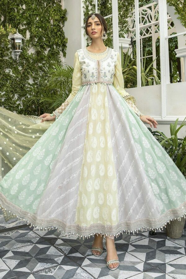 MARIAB Lawn Eid Collection – Design 05 - Sold out