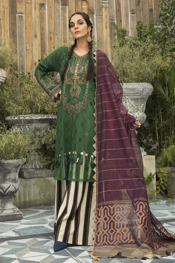 MARIAB Lawn Eid Collection –   Design 0