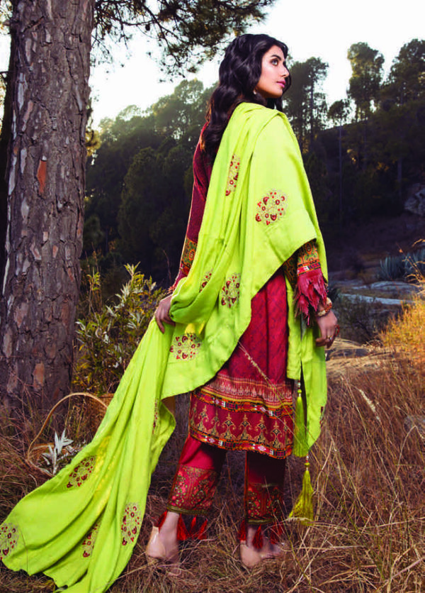 Alzohaib Wintry Breeze Shawl 2020 – D-07 - Recently Restocked