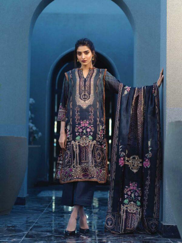 Firdous Resham Digital Lawn 2020 Pakistani Suits in India