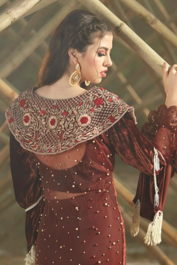 Zara Hayaat Festive Collection  – CARAMEL 20 W10 RESTOCKED