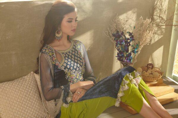 Zara Hayaat Festive Collection – BLUE BIRD 20 W6 RESTOCKED Ready to Ship