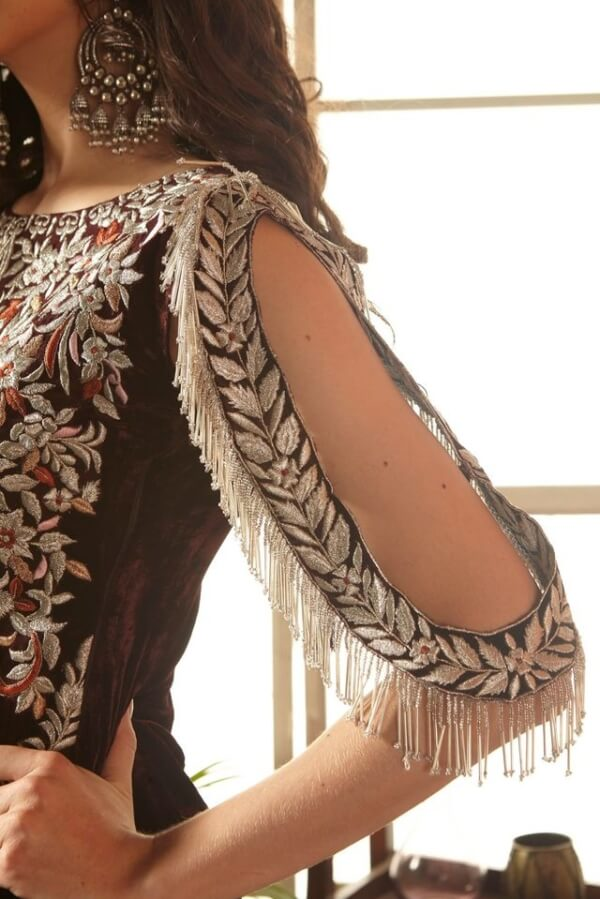 Zara Hayaat Festive Collection  – RAISIN 20 W4 RESTOCKED Ready to Ship