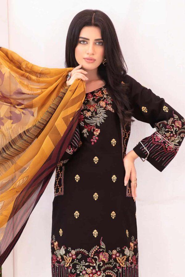 Elysia by Sana Sheraz – BLACK ROSE - Sold out