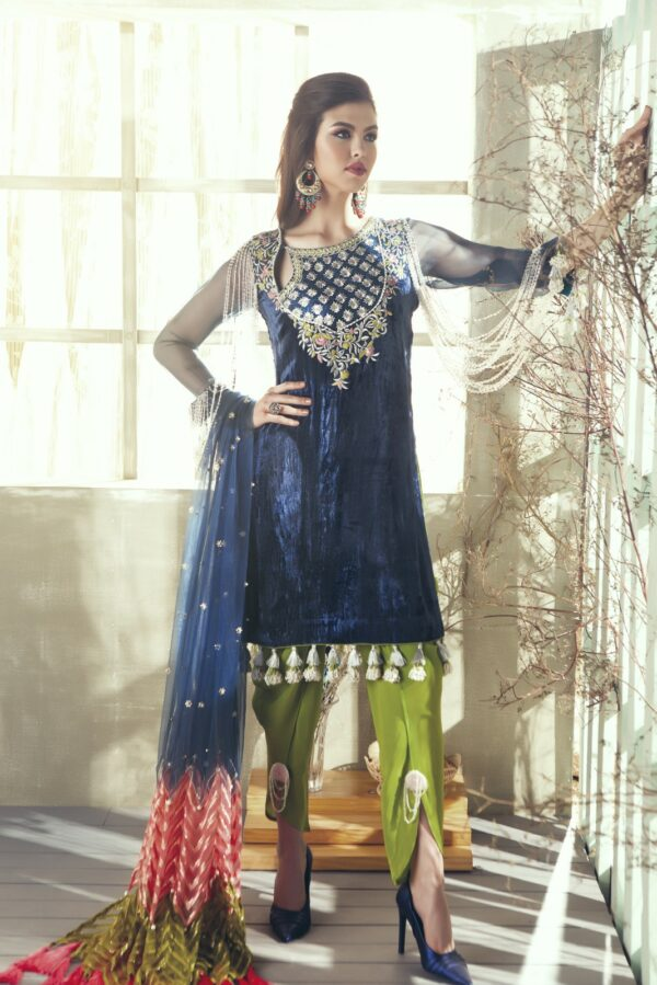 Zara Hayaat Festive Collection – BLUE BIRD 20 W6 RESTOCKED