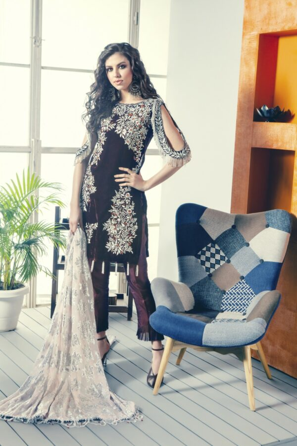 Zara Hayaat Festive Collection  – RAISIN 20 W4 RESTOCKED