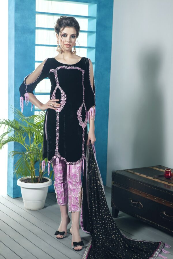Zara Hayaat Festive Collection  – EBONY 20 W8 RESTOCKED