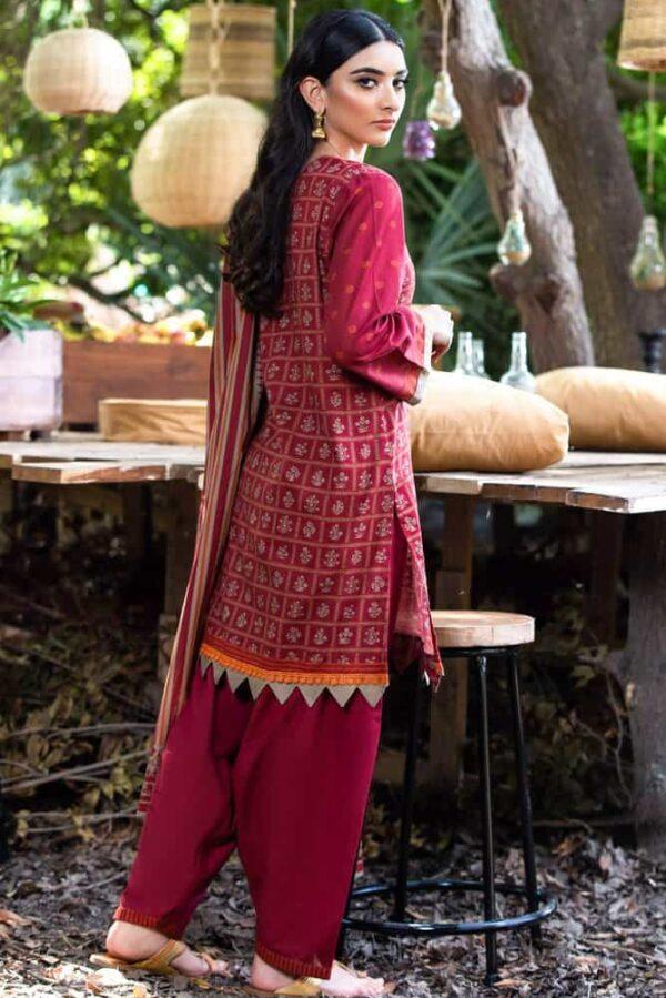 Dillab by Orient Textiles –   NRDS-262/U MAROON