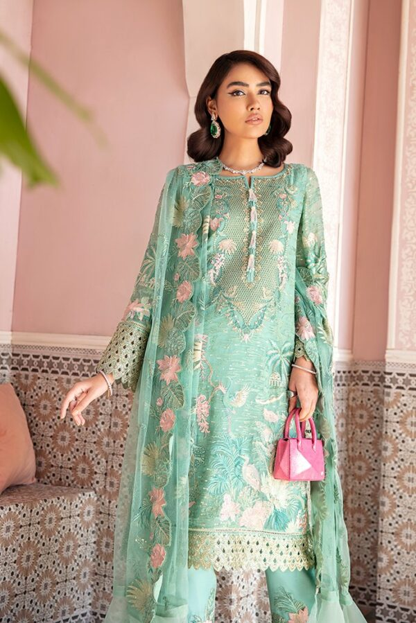 Afrozeh Nauratan Embroidered Chiffon – D-06 Pakistani Suits in India