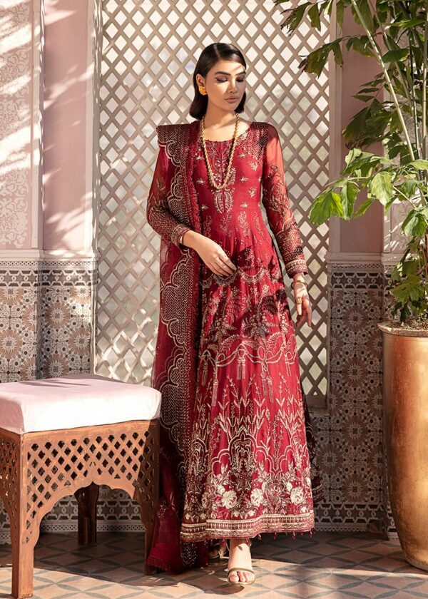 Afrozeh Nauratan Embroidered Chiffon – D-04 Miscellaneous