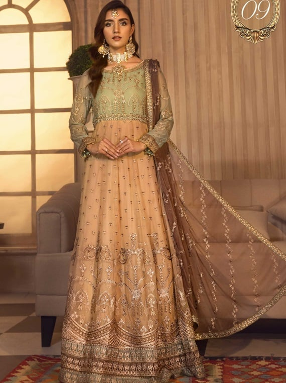 Noor e Rang By Zarif Luxury Chiffon Collection 2021 – ZF-09