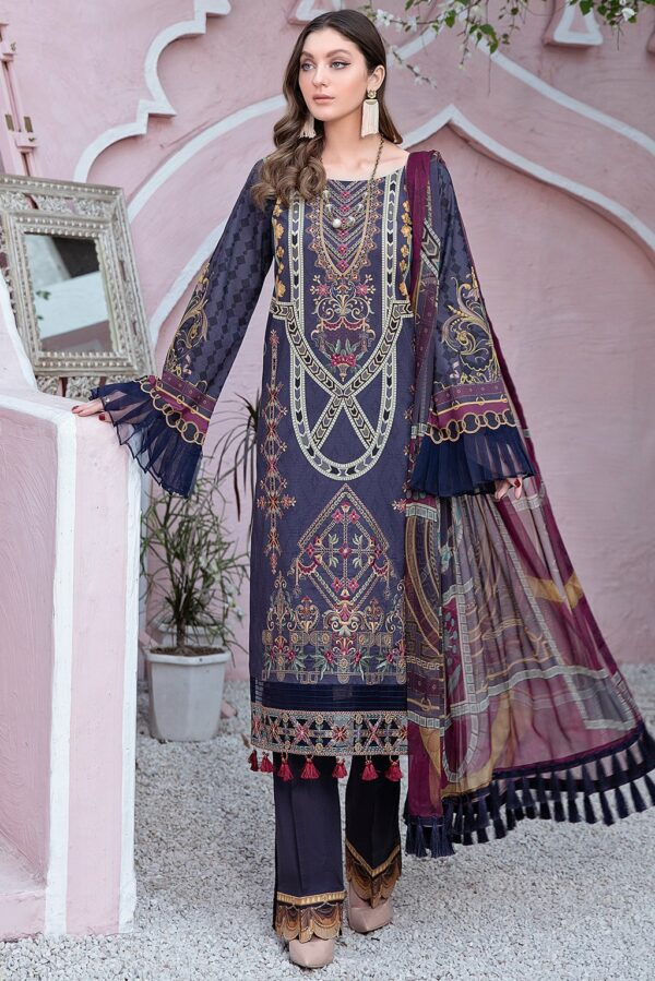 Riwayat Lawn by Ramsha – Y-101 Pakistani Suits in India