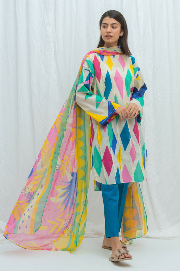 Beechtree Lawn Vol 2 – Colorful Prism-Printed-2P - Sold out