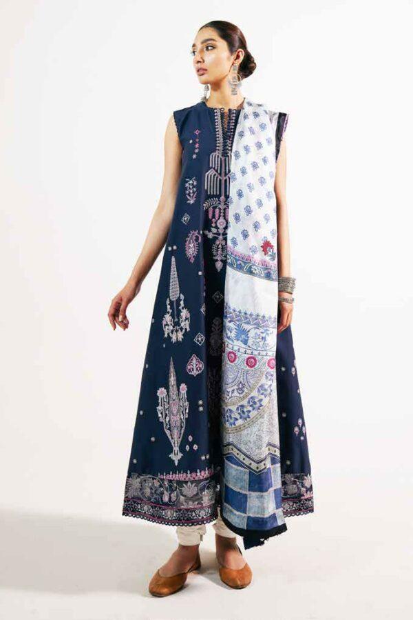 Zara Shahjahan Embroidered Lawn 2021 – KHUSHALA-A Zara Shahjahan Embroidered Lawn 2021 - Original