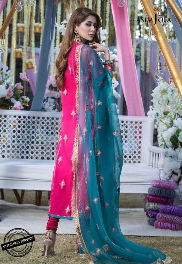Asim Jofa Festive Collection 2021  –  AJFC-10 *1 UP