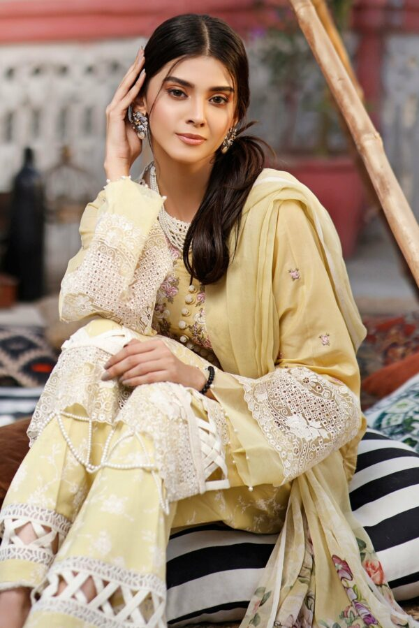 Jade Grandeur Luxury Lawn by Firdous – GL-19791 Jade Grandeur Luxury Lawn by Firdous - Original