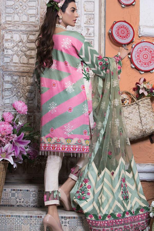 Asifa & Nabeel Luxury Eid Lawn  – Aleja LA-6 Asifa & Nabeel Luxury Eid Lawn - Original