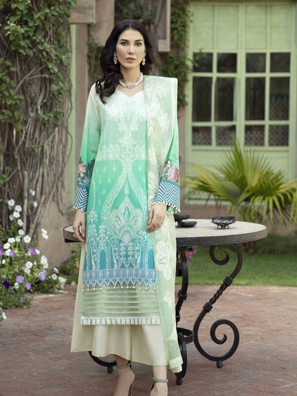 Binilyas Luxury Eid Collection 2021 – 003A Binilyas Luxury Lawn 2021 - Original