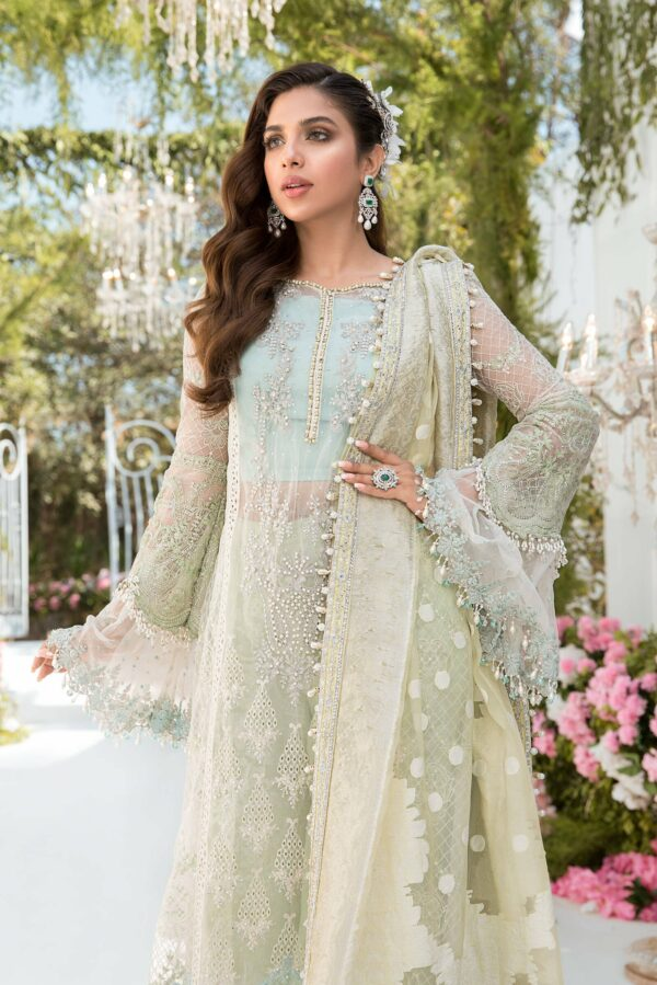MARIA. B Mbroidered Unstitched Eid'21 –  Design D2 - Sale - Pakistani Suits on Sale