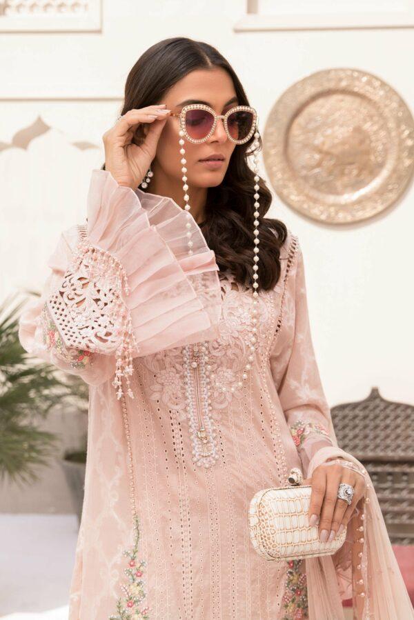 Maria B Eid Lawn 2021 – EL-21-06-Nude Pink