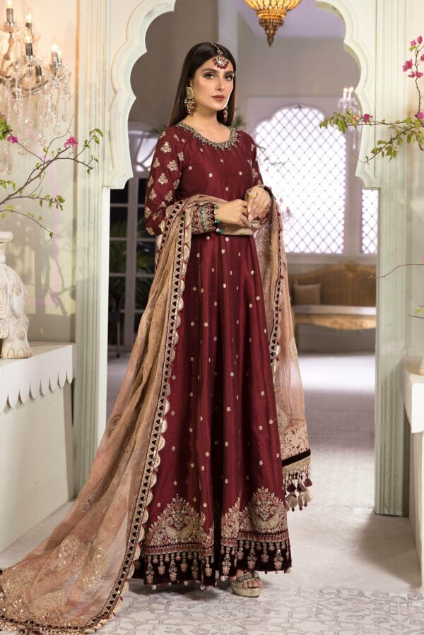 MARIA. B Heritage MBROIDERED – BD-2204 - Recently Restocked