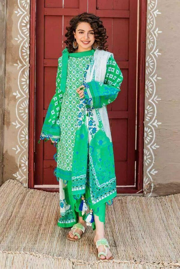 Gul Ahmed 3PC Printed Lawn Suit CL-928 Low Range Pakistani Suits & Kurtis