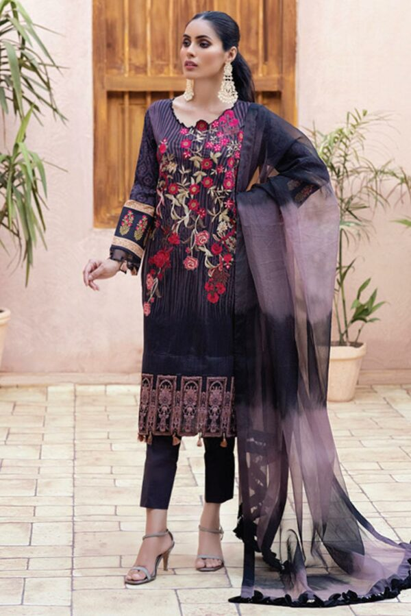 Al Zohaib Festive Hues Lawn Suit – FH206 - Recently Restocked