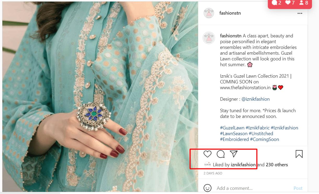Fashion Station Instagram