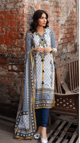 Gul Ahmed Organic Collection – CL1279A (SS-14) - Sale - Original