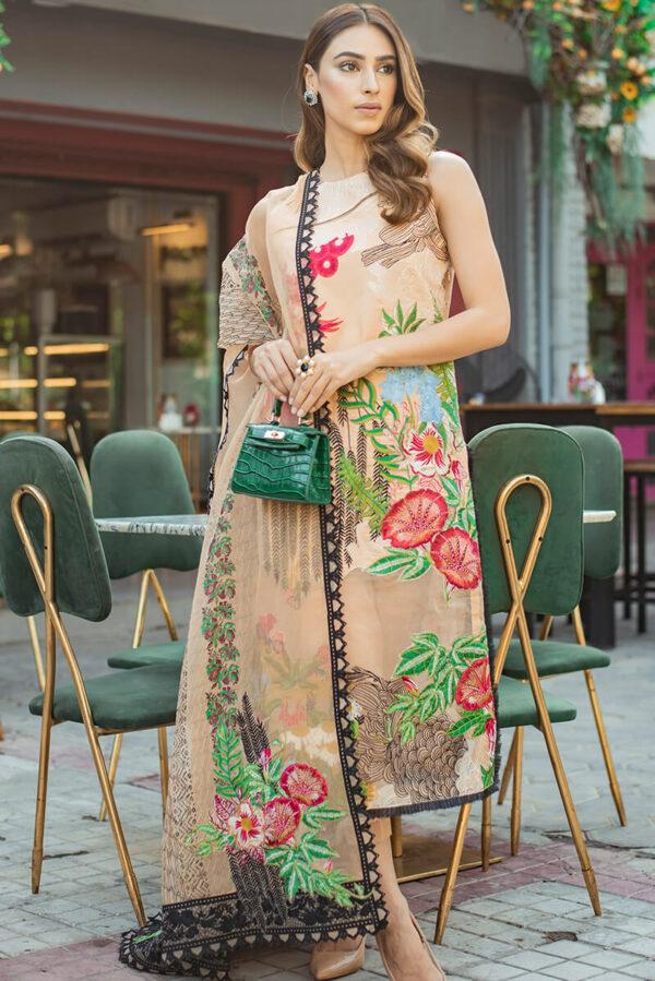 Asifa & Nabeel Eid Luxury Lawn Vol  2 –   ALYSSA AR-1B Asifa & Nabeel Eid Luxury Lawn Vol 2 - Original