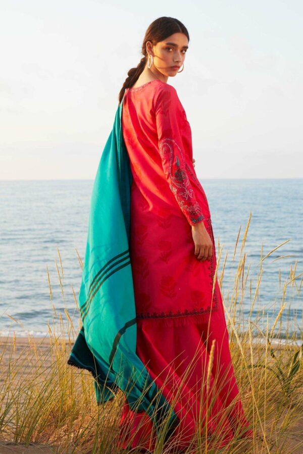 Zara Shahjahan Coco Luxury Lawn 2021 – 2B *1 UP